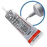 MMOBIEL E-6000 Adhesivo Transparente Semilíquido Multiusos de Alto Rendimiento Industrial con puntas de precisión para un trabajo limpio ()