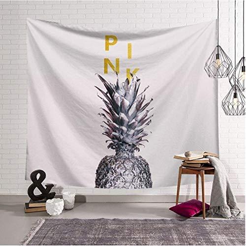 Zbzmm Nordic plant bladeren tapijt cactus wandtapijt ananas teenture wandplaat ananas Arras 200 cm plafond woning decoratie wandbehang hoofddecoratie