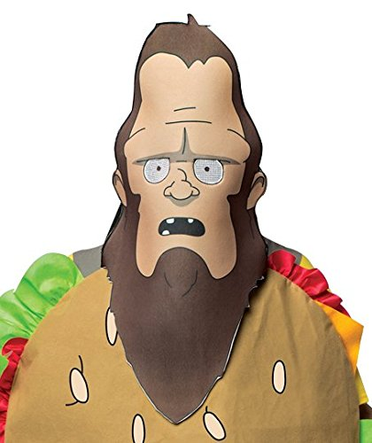 Rasta Imposta Bob's Burgers - Beefsquatch Mask
