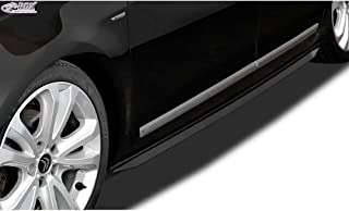 Quantitativo 1 RDX Minigonne Laterali A1 8X /& A1 8XA Sportback Slim lato gonne nero lucido set: sinistra /& destra RDSL544