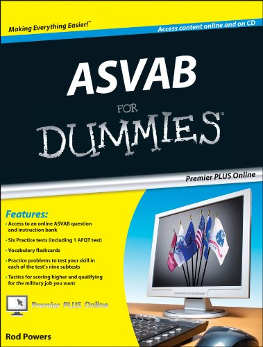 ASVAB For Dummies, Premier 3rd Edition