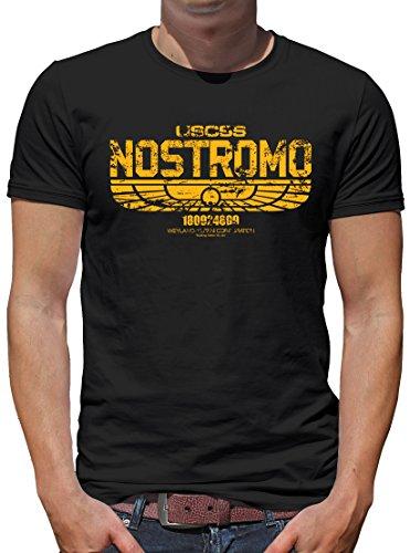 TShirt-People USCSS Nostromo - Camiseta para hombre Negro XL