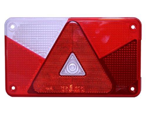 Lichtscheibe Aspöck Multipoint V links für Rückleuchte Rücklicht 18-8485-007 L