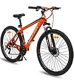 """Geekay Billion 21 Speed Gear Unisex Mountain Bike (Orange, 26"""" Wheel)"""