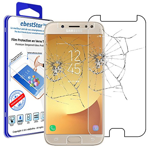 ebestStar - Cristal Templado Compatible con Samsung J7 2017 Galaxy SM-J730F Protector...