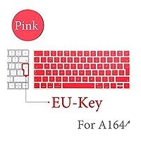 BluetoothワイヤレスキーボードMLA22LL / A1644 For MacキーボードカバープロテクターシリコーンカバーUS/EUバージョン-EU-Key-E-