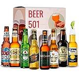Cervezas del mundo degustación BEER 501 : Coors, Corona, MIller, Heineken, Guiness, Voll Damm, Radeberger, Kirun I Ideas para regalar
