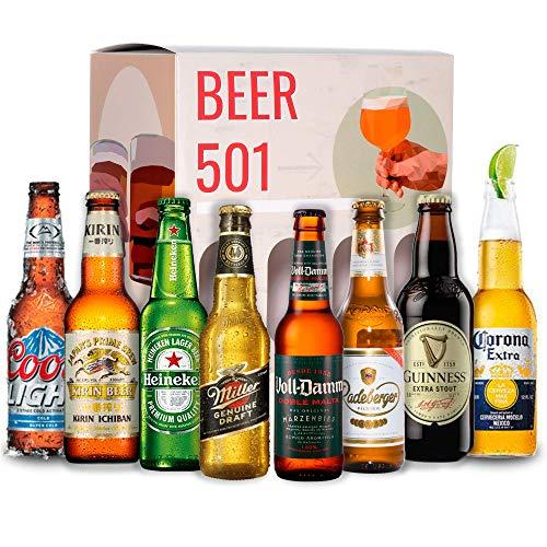 Kit Cervezas Del Mundo Marca BEER 501