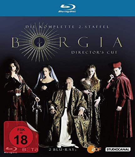 Borgia - Staffel 2 (Director's Cut) [Blu-ray]