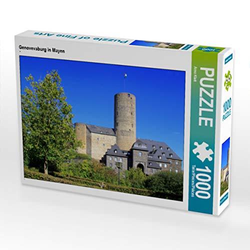 CALVENDO Puzzle Genovevaburg in Mayen 1000 Teile Lege-Größe 64 x 48 cm Foto-Puzzle Bild von Arno Klatt