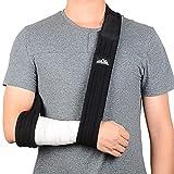 SupreGear Arm Sling, Adjustable Lightweight Comfortable Shoulder Immobilizer Arm Sling Breathable Medical Shoulder Support for Injured Arm/Hand/Elbow - 180cm