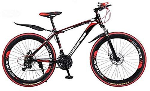 Bicicleta de carretera de la ciudad de cercanías, 26 pulgadas de bicicletas de montaña, el PVC y el agarre Todos los pedales de aluminio y caucho, Marco de acero de alto carbono y aleación de aluminio