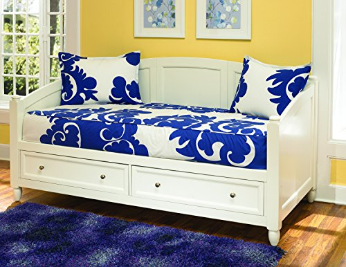Naples White Daybed with Storage by Home Styles