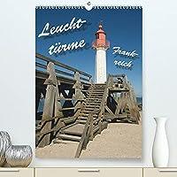 Leuchttuerme Frankreich (Premium, hochwertiger DIN A2 Wandkalender 2022, Kunstdruck in Hochglanz): Leuchttuerme an Frankreichs Westkueste (Monatskalender, 14 Seiten )