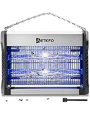 AETKFO Elektrisk insektsdödare 20 W insektsläckare insektslampa UV med UV-ljus, 2 800 V ingen giftig effektiv bekämpning av flygande insekter för att undvika myggbett