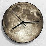 JHSHENGSHI Relojes, Relojes mecánicos de Madera Relojes, Relojes mecánicos de Madera Globo terráqueo, radiocontrolado 16 Colores Impresión 3D Lámpara de Globo de
