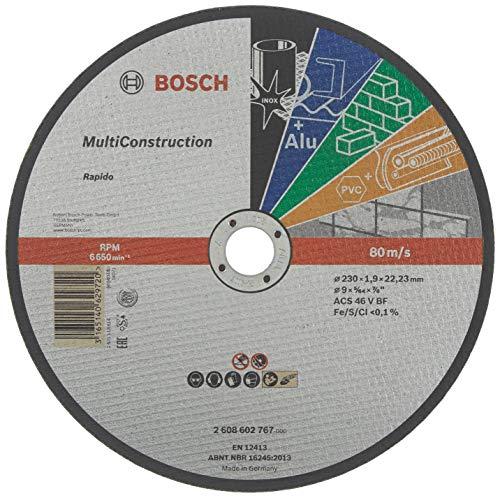 Bosch Professional Trennscheibe Universal flach Hub Rapido Multi Construction 230x 1,9mm–2608602767