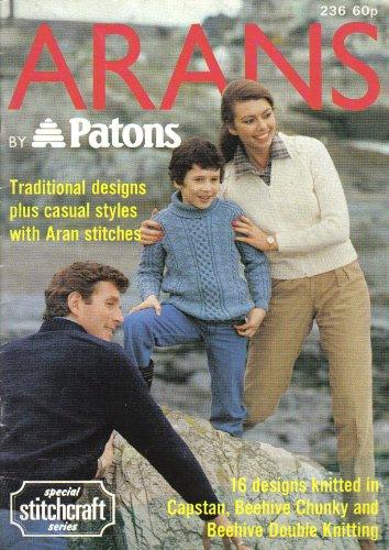 Patons Family Arans Knitting Pat...
