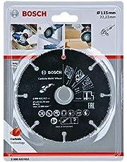 Bosch Professional Carbide Multi Wheel skärskiva (Multi Material, Ø 115 mm, tillbehör vinkelslip)