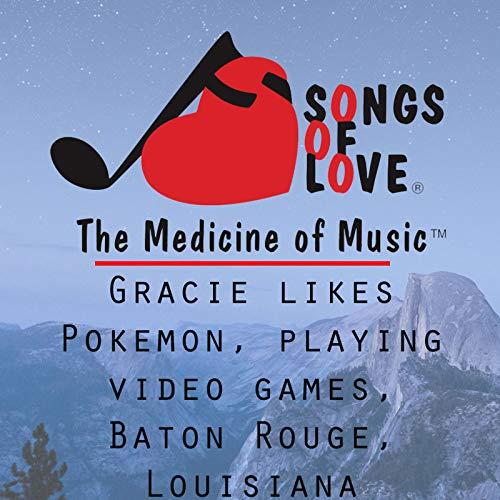 Gracie Likes Pokemon, Playing Video Games, Baton Rouge, Louisiana