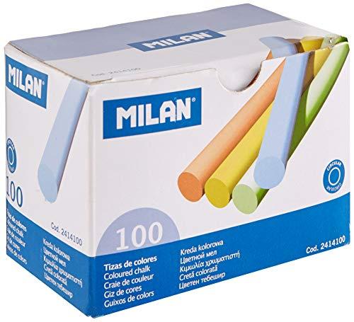 Milan - Caja 100 tizas de colores