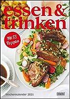 essen & trinken Wochenkalender 2021: Kuechen-Kalender mit Notizfeldern - pro Woche 1 Rezept - Format 21,0 x 29,7 cm