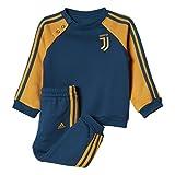 adidas Kinder Juventus 3-Streifen Trainingsanzug, Blunit/Tacyel, 62 EU