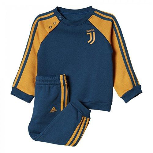 adidas Juventus 3S BBY J, Tuta Unisex Bambini, Blu (Azunoc/Amatac), 86