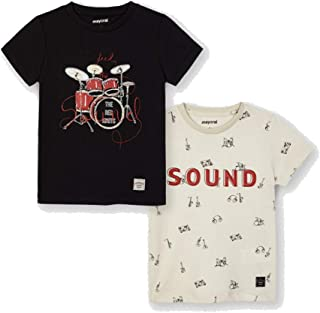 Mayoral Set 2 Camiseta Manga Corta Sound niño Modelo 3050