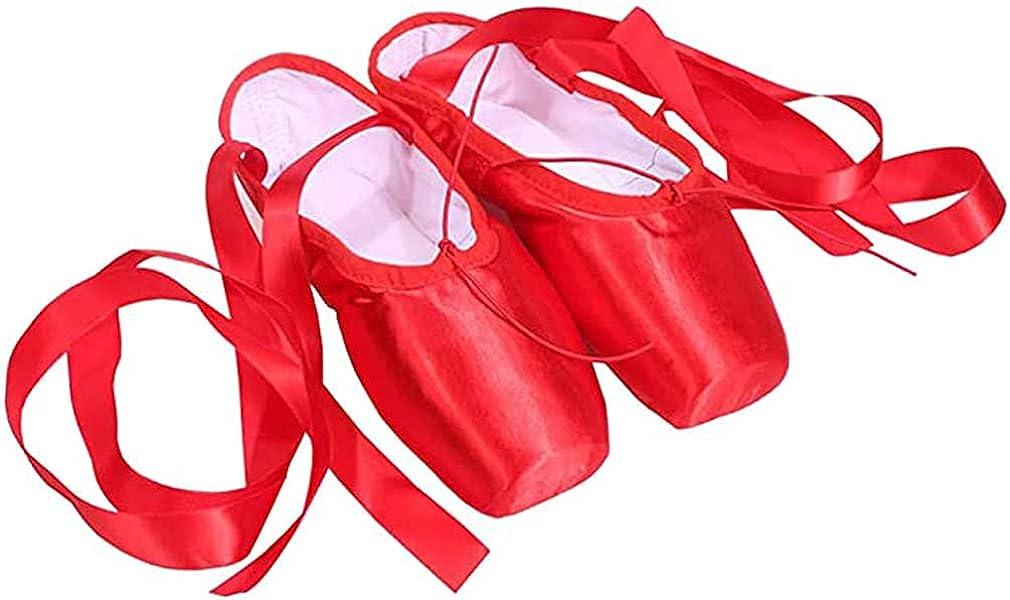 rosedoggie Ballet Pointe Shoes - Professional Dance Shoes Laces-