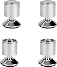 Meubelpoten Aluminiumlegering, zilveren bankvoeten, zinklegering onderstel, roest niet, vervaagt niet, eenvoudig te instal...
