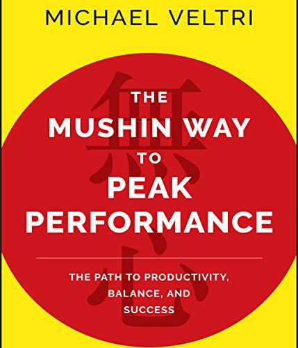 The Mushin Way to Peak Performance audiobook cover art