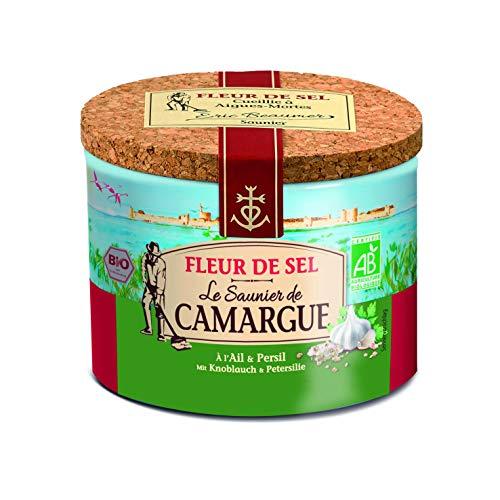 Le Saunier de Camargue Fleur De-Sel Knoblauch Petersilie (1 x 125 g)