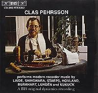 ハンス・マルティン・リンデ:リコーダーのための「アマリリ麗し」 (Clas Pehrsson Performs Modern Recorder) [Import]