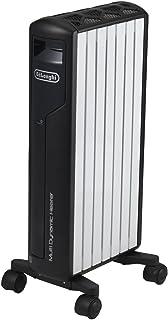 デロンギ(DeLonghi) マルチダイナミックヒーター ピュアホワイト+マットブラック 6~8畳用 MDH09-BK