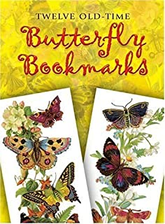 Twelve Old-Time Butterfly Bookmarks (Dover Bookmarks) by Maggie Kate (1996-10-16)