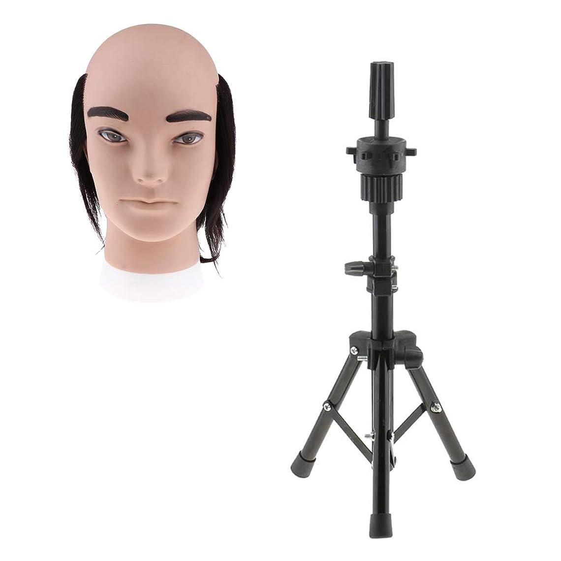 したがって廃止するビットT TOOYFUL ヘアプラクティスヘッド 男性 ヘアスタイリングヘッド メイク道具