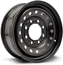 RTX, Steel Rim, New Aftermarket Wheel, 16X6.5, 8X165.1, 117, 28, Black finish X46865