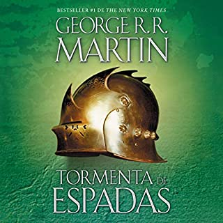 Tormenta de espadas [A Storm of Swords]     Canción de hielo y fuego, Libro 3              By:                                                                                                                                 George R. R. Martin                               Narrated by:                                                                                                                                 Victor Manuel Espinoza                      Length: 55 hrs     Not rated yet     Overall 0.0