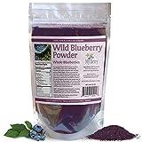 Wild Blueberry Powder-100% Whole Berry; 6oz, Grown in...