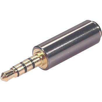 3,5 Mm Kopfhöreranschluss CTIA To OMTP Converter Adapter Klinkenstecker Stereo