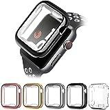 LATSKGN Apple Watch ケース Series 6 5 4 3 2 TPU超薄型 保護ケース カバー 38mm 40mm 42mm 44mm(5枚入り)
