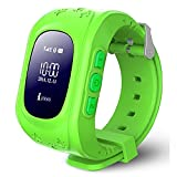 REES52 Kids Smart Watch,Q50 Wrist Watch with Anti-Lost GPS Tracker SOS Call Location