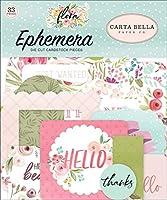 Carta Bella Cardstock Ephemera 33/Pkg-Icons, Flora No. 3