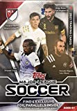 2021 Topps MLS Soccer Blaster Box of Packs with 4 Exclusive Foil Parallel Cards