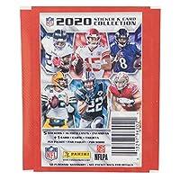 NFL グッズ ステッカー 2020-21 PANINI 10パックセット (ステッカー5枚+カード1枚入り1パック x 10) - [並行輸入品]