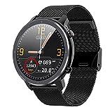 Voigoo Montre Connectée Homme Smartwatch Sport Etanche IP68 Bracelet Connecté Tensiomètre Cardiofréquencemètre Podomètre Fitness Tracker d'Activité pour iPhone Huawei Samsung pour Android/iOS