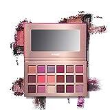 Jooayou 18 colori Palette Ombretti, Impermeabile a Lunga Durata, Ombretto in Polvere Makeup Palette Trucco Cosmetico