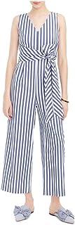 J.Crew Mercantile Women's Sleeveless Striped Jumpsuit