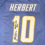 Los Angeles Chargers Justin Herbert Autographed Powder Blue Jersey'2020 ROY' Beckett BAS